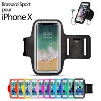 BRASSARD SPORT POUR IPHONE X COQUE ETUI TOUR DE BRAS ECOUTEUR ARMBAND RUNNING