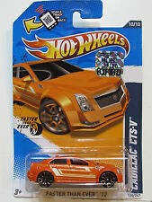 HOT WHEELS 2012 FASTER THAN EVER CADILLAC CTS-V  FACTORY SEALED