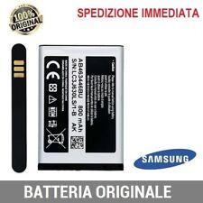 Batteria AB463446BU Originale Samsung 800mAh per C3590 E1270 C3595 B130 E250