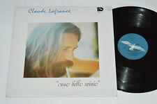 CLAUDE LAFRANCE Une Belle Soiree LP 1977 Disques Bleu DB-1006 Folk Rock Quebec
