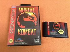 Mortal Kombat Sega Genesis Game Super FREE SHIP w/ Case!