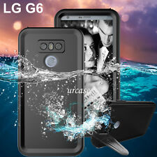 For LG G6 Waterproof Case Underwater Shockproof Dust Snow Proof Hard Full Cover