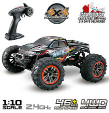 Hosim RC Car 1:10 Scale 4WD 2.4Ghz Off-road Remote Control Monster Truck Red