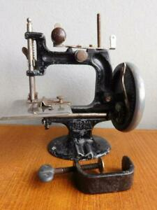 Antique Australian PETER PAN Toy Childs Sewing Machine 1900s A/F