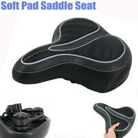 Comfort Big Bum Bike Bicycle Gel Extra Sporty Soft Pad Saddle Seat fits Cruiser
