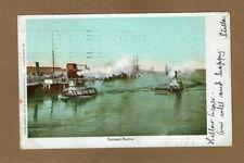 Portland,OR Oregon Harbor scene used 1905