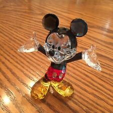 Swarovski Disney Mickey Mouse #1118830 Color Crystal Figurine NEW in Gift Box!