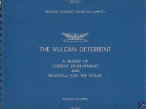AVRO VULCAN V BOMBER B.2 B MK2 RARE HISTORICAL MAN REPS TESTS period archive