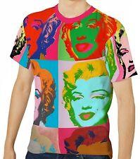 Marilyn Monroe Herren Kurzarm T-Shirt Tee wa1 aao20097