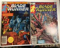 Blade Runner (1982) # 1 & 2 (NM) Canadian Price Variants (CPV) Movie !