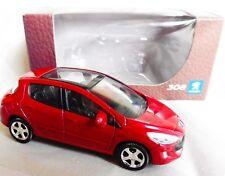 "Peugeot 308 Rouge 1/64 ""3 Inche"" Diecast NOREV Produit NEUF !!"