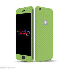 3D Textured Carbon Fibre Skin Cover Sticker Decal Vinyl Wrap ALL Apple iPhone