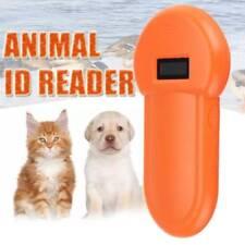 134.2Khz RFID ISO FDX-B lettore di chip Animali Cane scanner palmare Animale Domestico Microchip UK