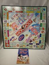 Littlest Pet Shop Monopoly Edition Replacement Game Board and Instructions