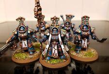 Warhammer 40k Chaos Tzeentch Thousand Sons Scarab Terminator x5 Pro Painted
