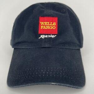 Kyle Petty Checkered Flag Sports Hat Black Red #45 Wells Fargo Petty Enterprise