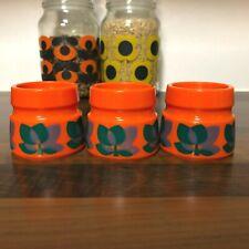 More details for emsa 1970s west german egg cups x 3 | bologna | mcm | stacking egg mugs