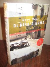 1st Edition DE NIRO'S GAME Rawi Hage DUBLIN IMPAC First Printing NOVEL Fiction