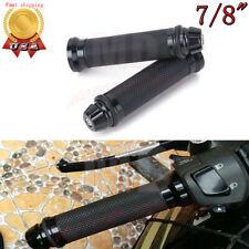 "MOTORCYCLE HAND GRIPS 7/8"" 22mm HANDLEBAR GEL FOR HONDA SUZUKI YAMAHA SPORT BIKE"
