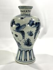 New listing Antique Chinese Blue and White Meiping Vase