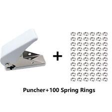 Dart locher+100stück Ring aus Metall,Dart Flights zubehör CyeeLife