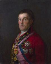 The Duke of Wellington by Francisco de Goya Fine Art Giclee Canvas Print