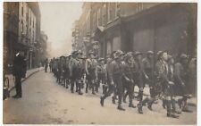 Scout Troop Marching in Cambridge, Poss Sidney St RP PPC, Unposted By AJ Davis