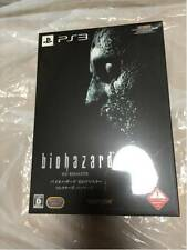 PS3 Biohazard HD Remaster Resident Evil Collector's Package Limited from Japan