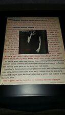 Loverboy Turn Me Loose Rare Original Promo Poster Ad Framed!