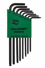 T6 - T25 8pc Torx/Star Ball End L-Wrench Set ProGuard™ Finish Bondhus USA #11331