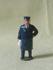 Station Master, model railroad depot or platform figure, Reproduction Johillco