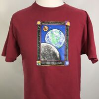 VTG BATON ROUGE EARTH DAY PLANETS EARTH LOUISIANA SINGLE STITCH USA T SHIRT XL