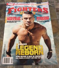 8/13 FIGHTERS ONLY MAGAZINE -VITOR BELFORT etc - UFC - MMA US & CA Edition