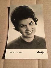 Fanny Daal-AMIGA-AUTOGRAFO carta-ca. 9 x 14 cm