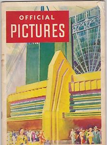 #MISC-0267 - 1933 CHICAGO WORLDS FAIR - OFFICIAL PICTURES book