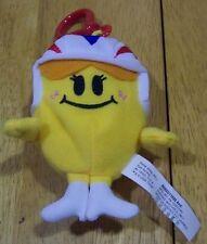 "Mr. Men LITTLE MISS DAREDEVIL 4"" Plush Stuffed Toy CLIP"