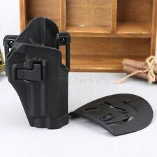 Tactical Right Handed Waist Paddle Belt Holster Black for Pistol SIG Sauer P226