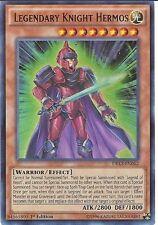 Yu-Gi-Oh DRL3-EN062 Legendary Knight Hermos Ultra Rare 1st Edition