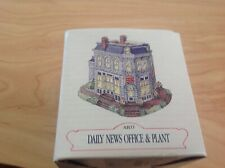 Liberty Falls Collection Ah33 daily news office & plant In Original Box