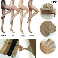 Women's Tight Silk Stockings Super Elastic Ultra Thin Black Stockings Breat Z9S2