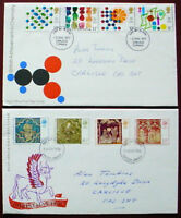 GREAT BRITAIN: QE II: : COLLECTION OF 4  FIRST DAY COVERS: LOT 7