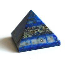 Reiki Energía cargado Lapis Lazuli Pirámide De Cristal Natural De Cristal De Piedra De Curación