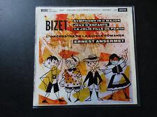 LP BIZET ANSERMET SUISSE ROMANDE - SYMPHONY JEUX D'ENFANTS / excellent état