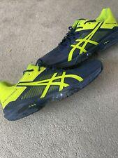 Men's asics Gel Solution Speed 3 Tennis shoes  Size UK 11 EU 46.5 Blue/yellow