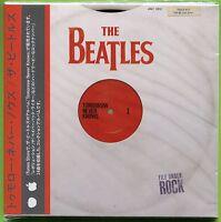 The Beatles TOMORROW NEVER KNOWS Japan mini LP CD w/OBI Strip Digital Remaster