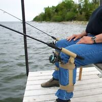 FISH-N-CHUM Leg Mounted Fishing  Rod / Pole Holder