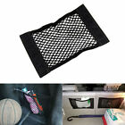 Black Car SUV Trunk Seat Back Trim Panel Elastic String Net Storage Bag Pocket