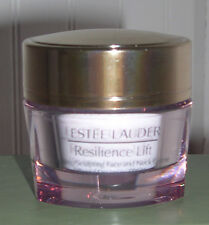 New Estee Lauder Resilience Firming/Sculpting Face Neck Creme SPF 15~15 ml/.5 oz