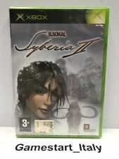 SYBERIA 2 (XBOX) VIDEOGIOCO NUOVO SIGILLATO - NEW SEALED PAL VERSION