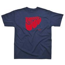 Licencia Oficial-The Beatles-Rubber Soul logotipo Camiseta Lennon Mccartney